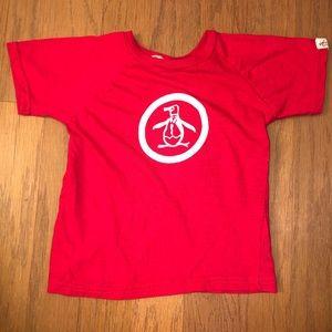 Original Penguin Red Shirt